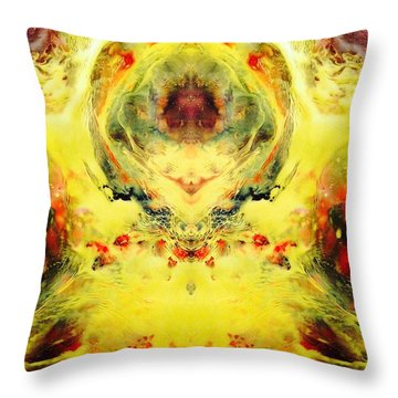 Cosmic Places Throw Pillow