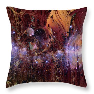 Cosmic Resonance No 2 Throw Pillow