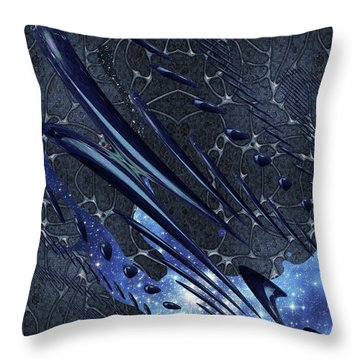 Cosmic Resonance No 5 Throw Pillow