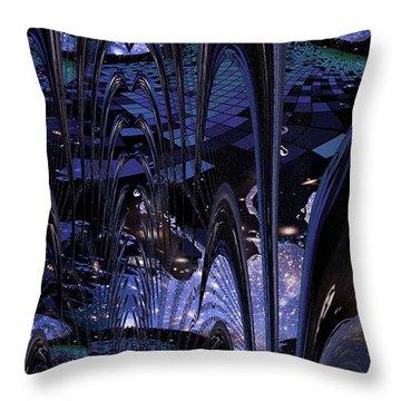 Cosmic Resonance No 8 Throw Pillow