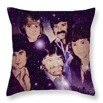 Cosmic Rockers Throw Pillow