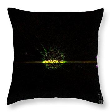 Cosmic Splash Throw Pillow