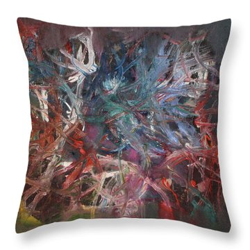 Cosmic Web Throw Pillow