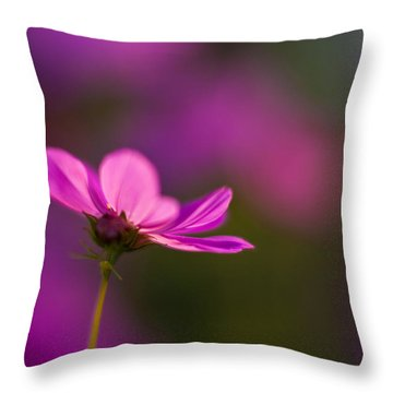 Cosmo Impression Throw Pillow by Mike Reid