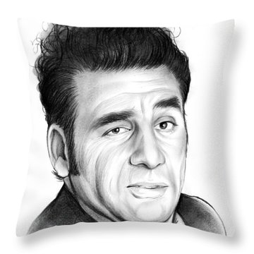 Cosmo Kramer Throw Pillow