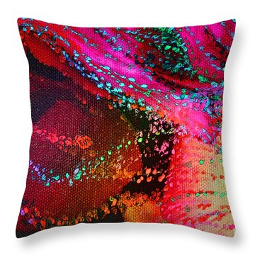 Cosmogenesis Throw Pillow