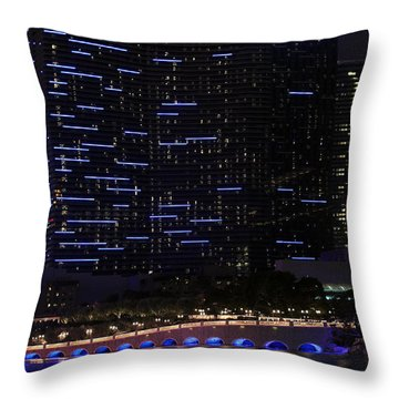 Cosmopolitan Evening Throw Pillow