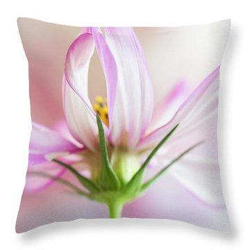 Throw Pillow featuring the photograph Cosmos 5 by Elena Nosyreva