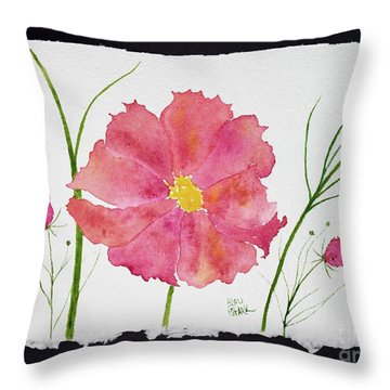 More Cosmos Throw Pillow