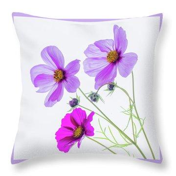 Cosmos Bright Throw Pillow