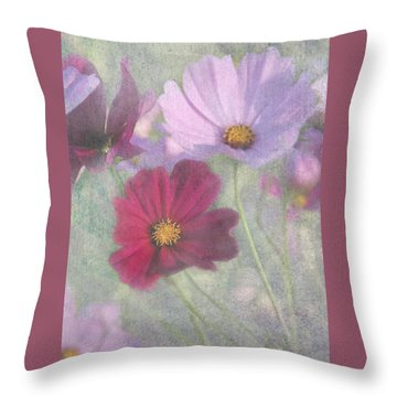 Cosmos Throw Pillow by Geraldine Alexander