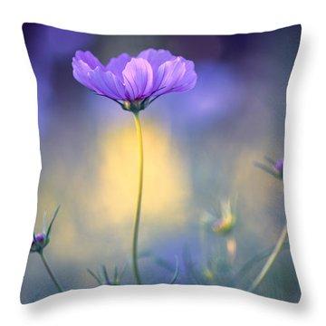 Cosmos Pose Throw Pillow