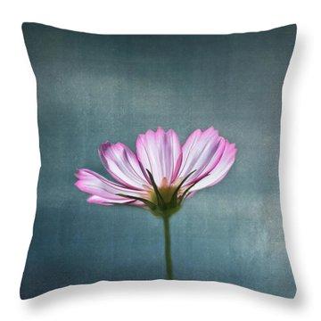 Cosmos - Summer Love Throw Pillow