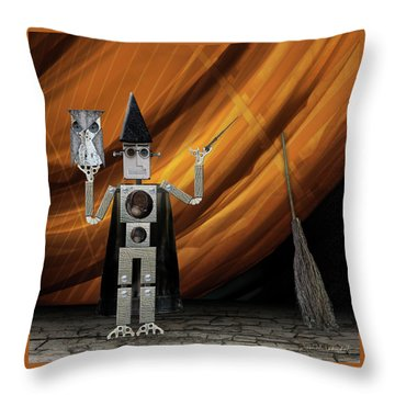 Cosplay With Philip Throw Pillow by Joan Ladendorf