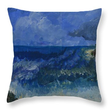 Costa Rica Beach Throw Pillow