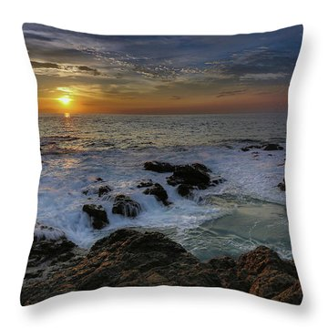 Costa Rica Sunrie Throw Pillow