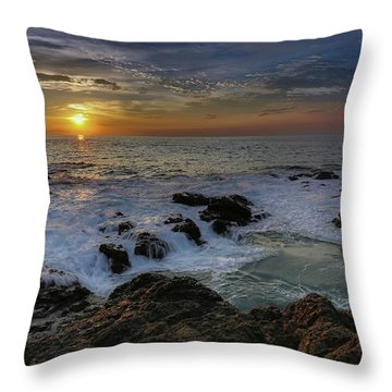 Costa Rica Sunrie Throw Pillow
