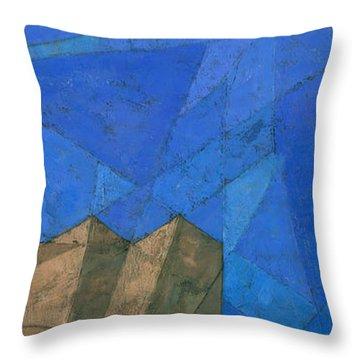 Cote D Azur I Throw Pillow by Steve Mitchell
