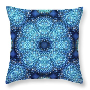 Cote D'azur Throw Pillow by Mo T