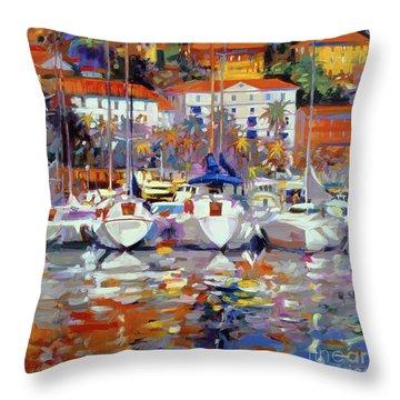 Cote Du Midi Throw Pillow by Peter Graham