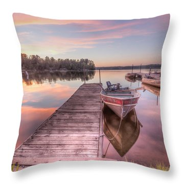 Throw Pillow featuring the photograph Cotton Candy by Paul Schultz