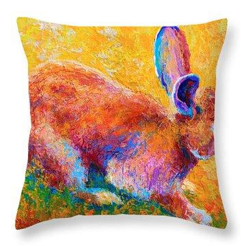 Cottontail II Throw Pillow