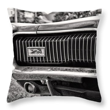 Cougar End Throw Pillow