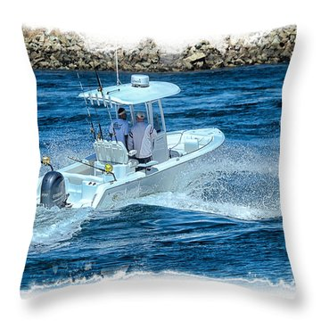Could Be The First Throw Pillow by Constantine Gregory