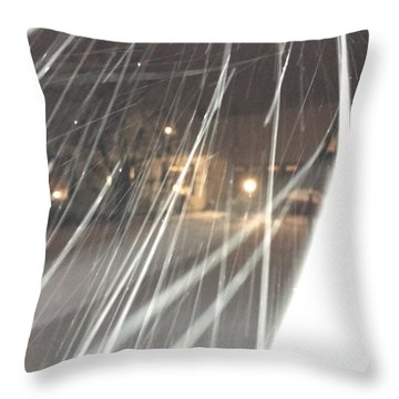 Coulter Snow  Throw Pillow