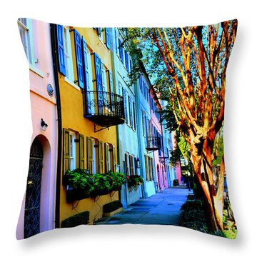 Count Your Rainbows Throw Pillow
