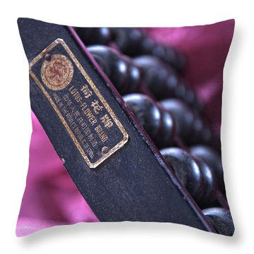 Countdown In Pink Throw Pillow