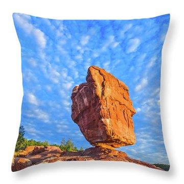 Counterpoise  Throw Pillow