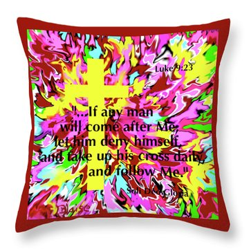 Counting The Cost Throw Pillow