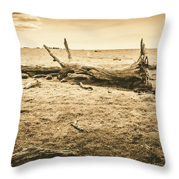 Countrified Australia Throw Pillow