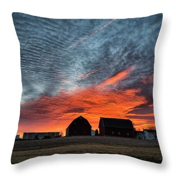 Country Barns Sunrise Throw Pillow