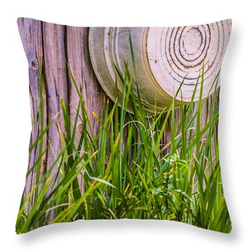Country Bath Tub Throw Pillow