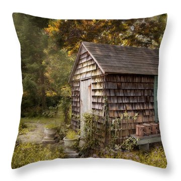 Country Blessings Throw Pillow