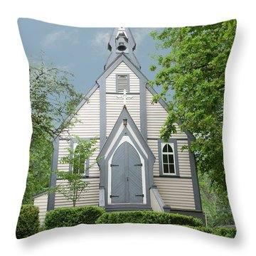 Throw Pillow featuring the photograph Country Church by Rod Wiens