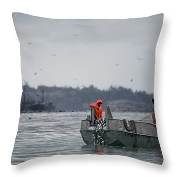 Throw Pillow featuring the photograph Country Club by Randy Hall
