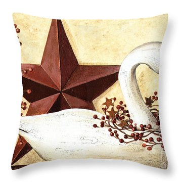 Country Flair #101 Throw Pillow
