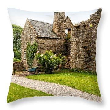 Country Garden Throw Pillow