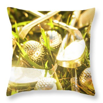 Chrome Throw Pillows