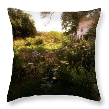 Country House Throw Pillow by Cynthia Lassiter