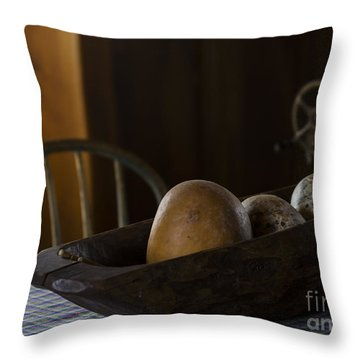 Country Kitchen Throw Pillow by Andrea Silies