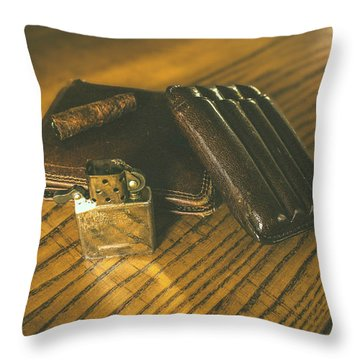 Country Life Throw Pillow by Cesare Bargiggia