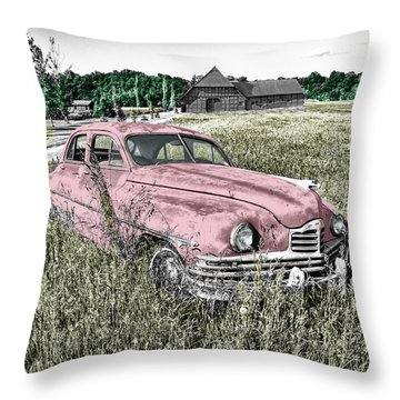 Country Life Throw Pillow by Ericamaxine Price