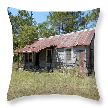 Country Living Gone To The Dawgs Throw Pillow