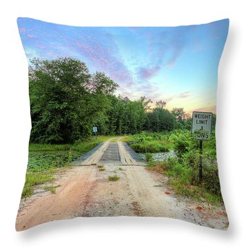 Throw Pillow featuring the photograph Country Living Sunrise by JC Findley