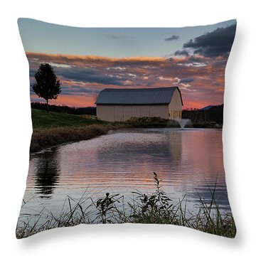 Country Living Sunset Throw Pillow