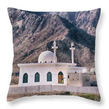 Throw Pillow featuring the photograph Country Mosque by Charles McKelroy